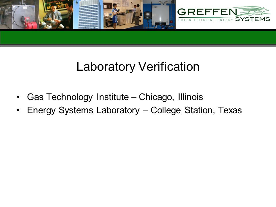 Laboratory Verification