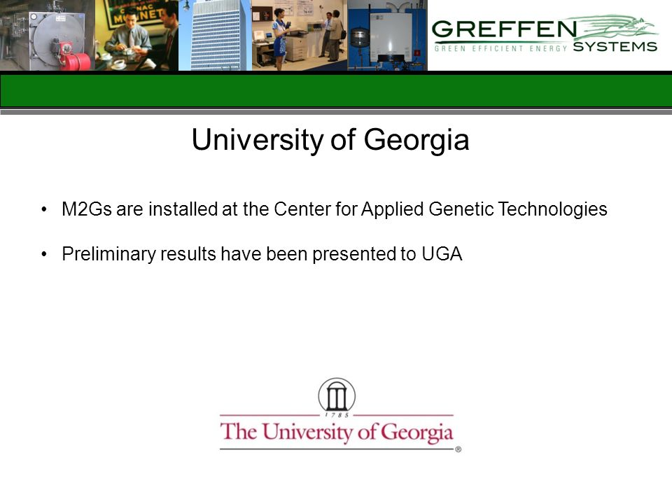 University of Georgia M2Gs are installed at the Center for Applied Genetic Technologies.