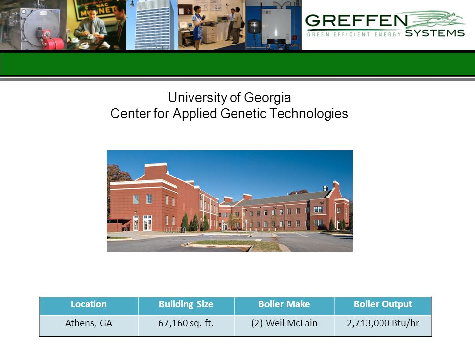 University of Georgia Center for Applied Genetic Technologies