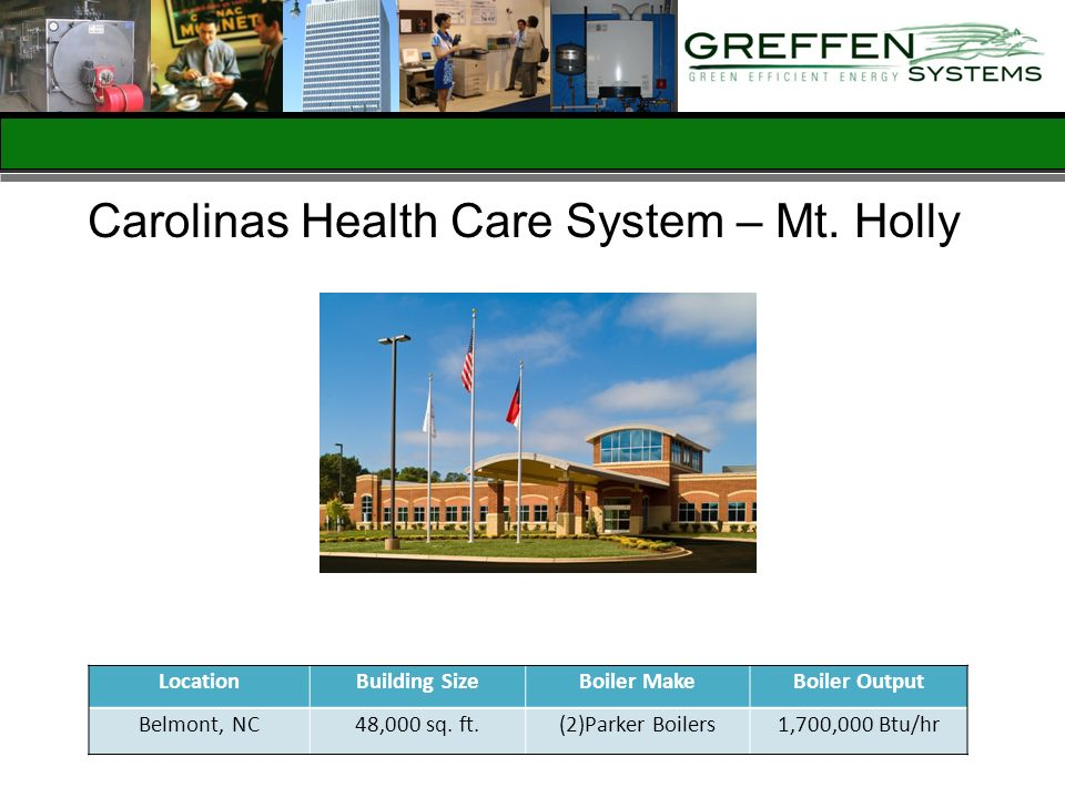 Carolinas Health Care System – Mt. Holly
