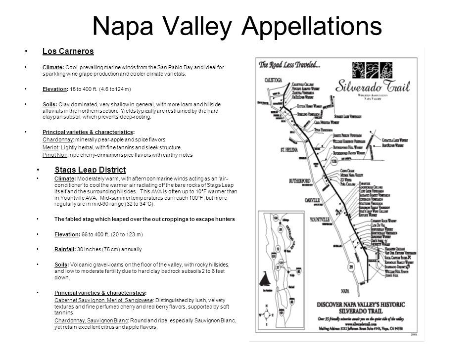 Napa Valley Appellations