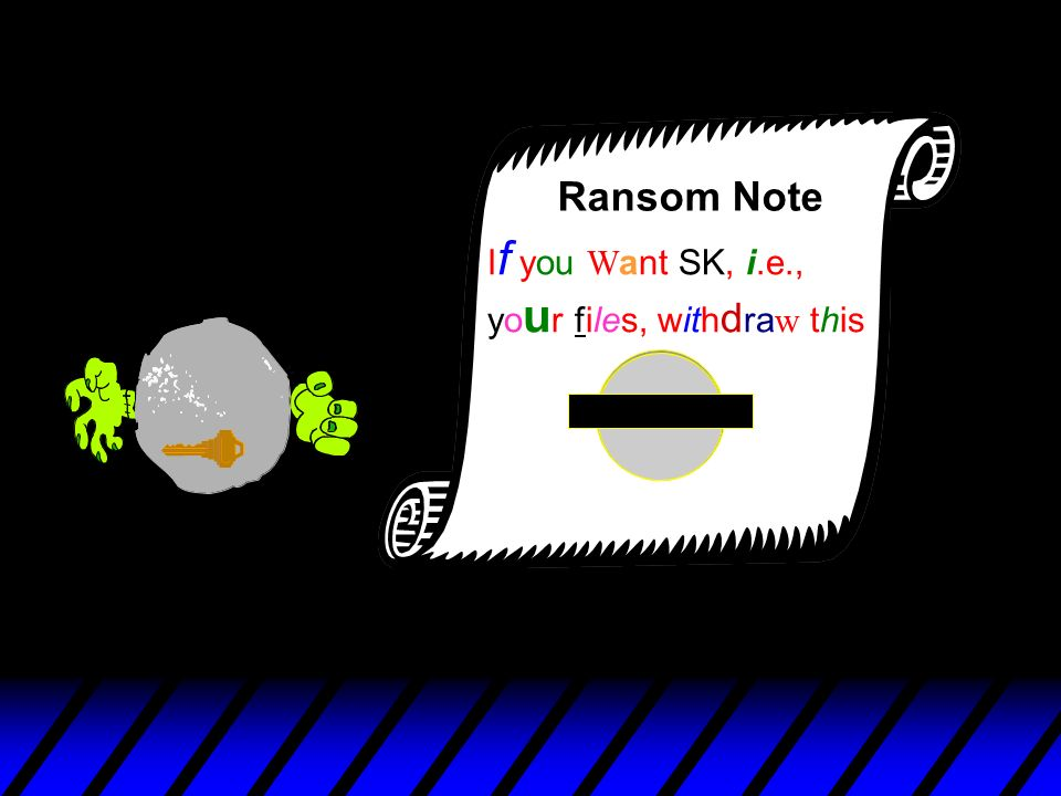 If you Want SK, i.e., your files, withdraw this Ransom Note