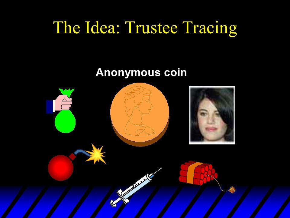 The Idea: Trustee Tracing