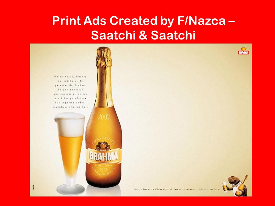 Print Ads Created by F/Nazca – Saatchi & Saatchi