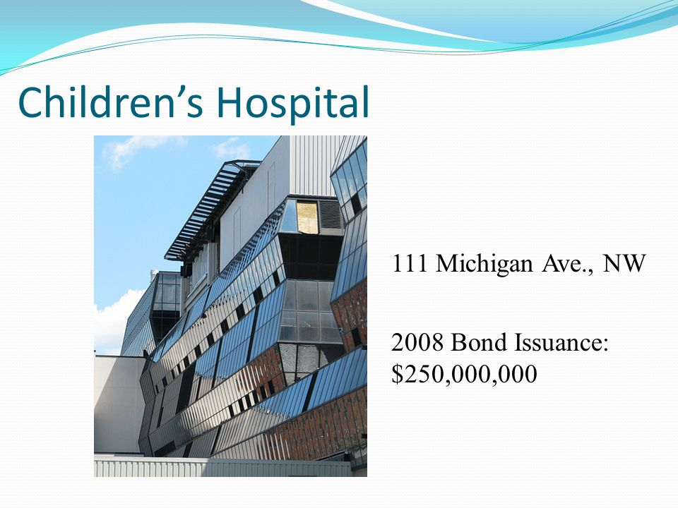 Children's Hospital 111 Michigan Ave., NW