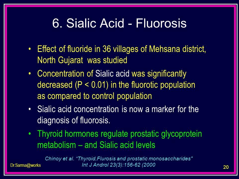 6. Sialic Acid - Fluorosis