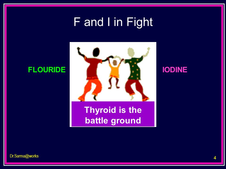 Thyroid is the battle ground