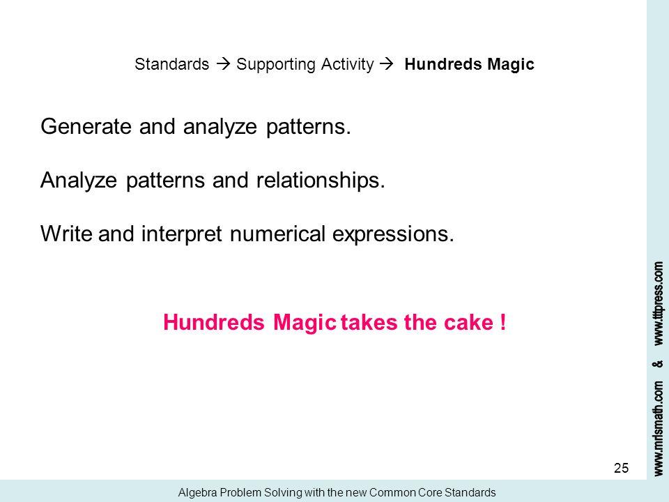 Hundreds Magic takes the cake !