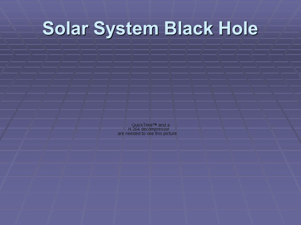 Solar System Black Hole