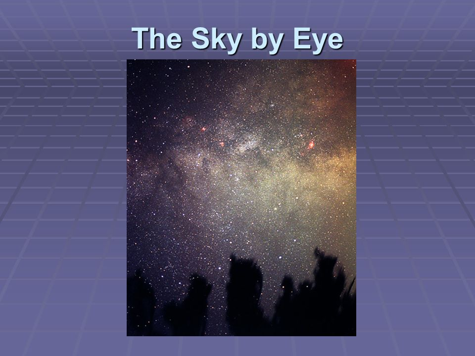 The Sky by Eye