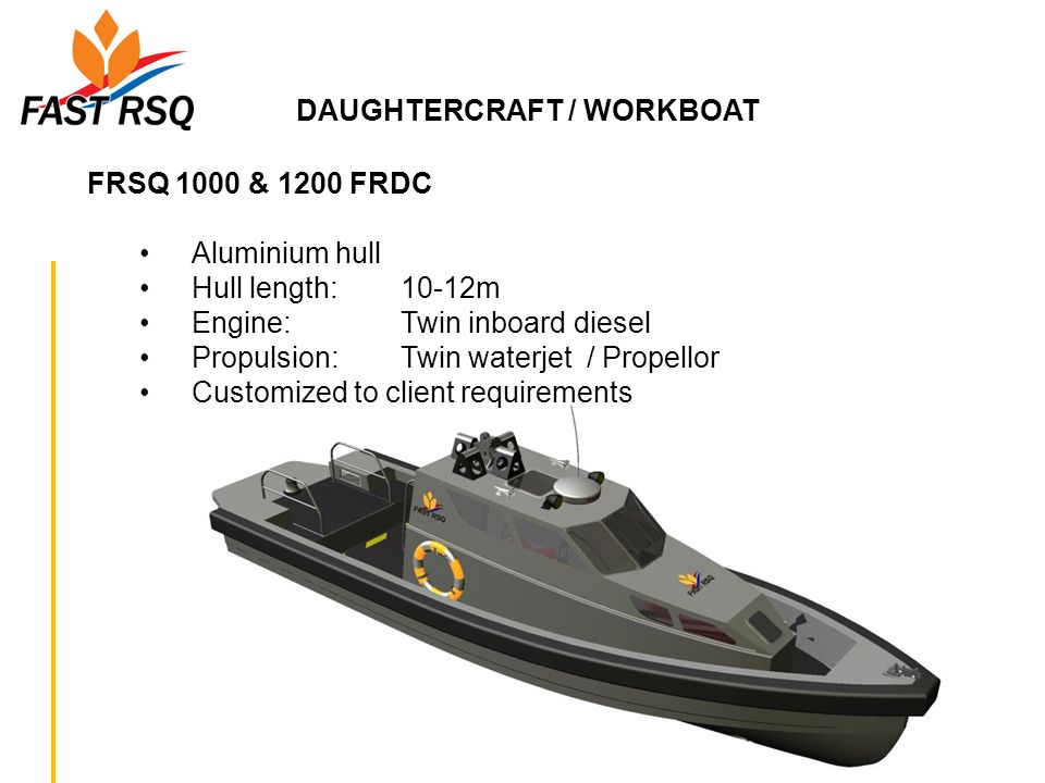 DAUGHTERCRAFT / WORKBOAT