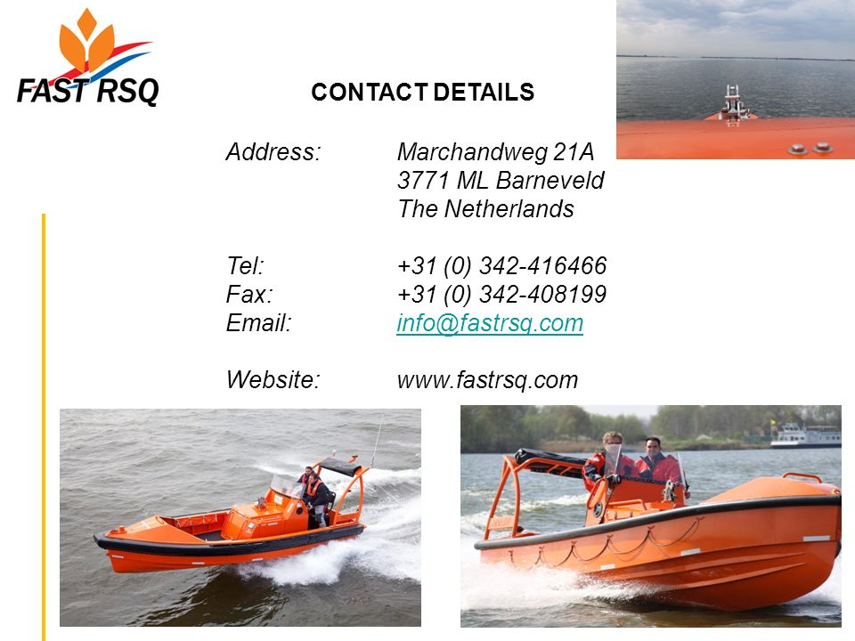 CONTACT DETAILS Address: Marchandweg 21A 3771 ML Barneveld
