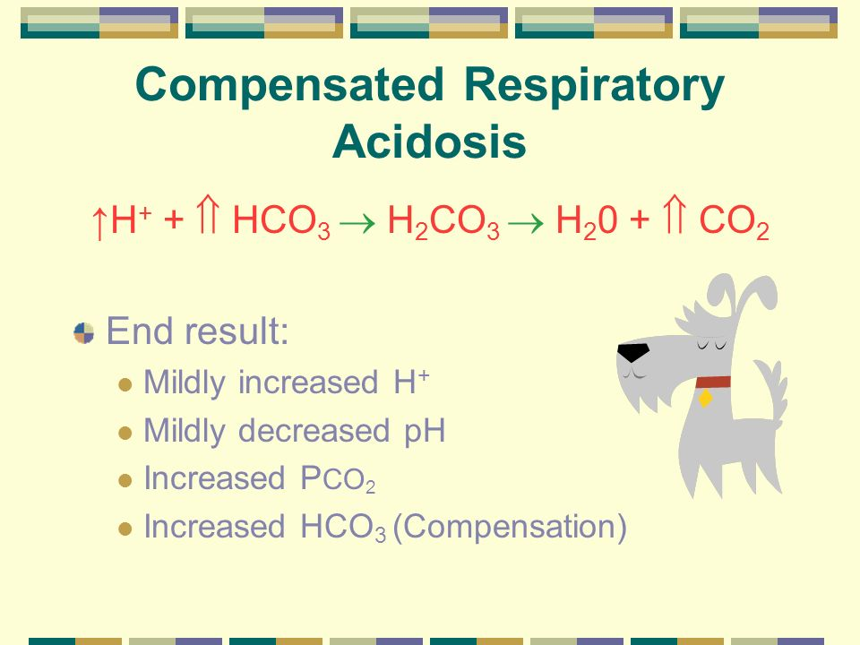 Compensated Respiratory Acidosis