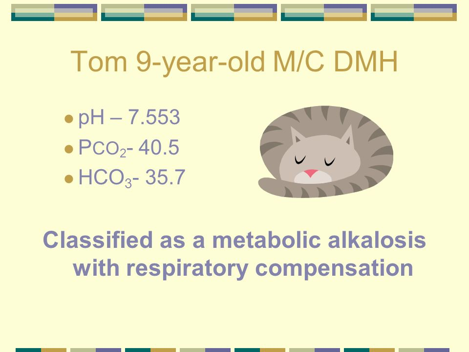 Classified as a metabolic alkalosis with respiratory compensation