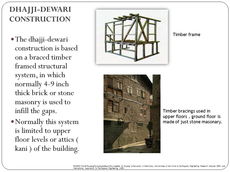 DHAJJI-DEWARI CONSTRUCTION
