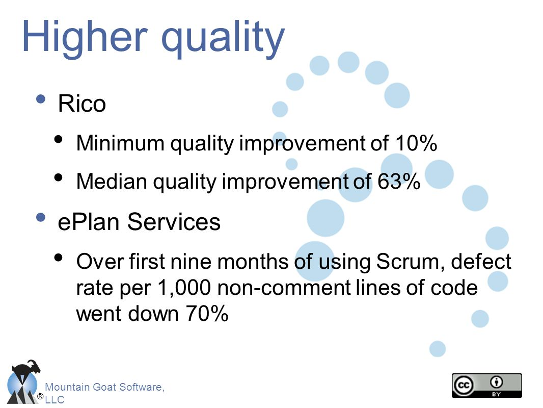 Higher quality Rico ePlan Services Minimum quality improvement of 10%