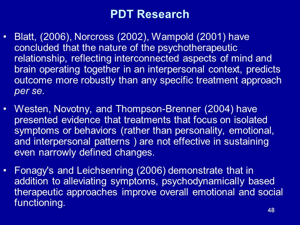 PDT Research