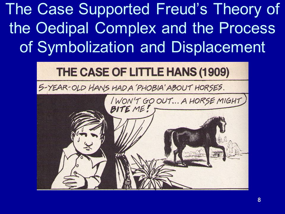 The Case Supported Freud's Theory of the Oedipal Complex and the Process of Symbolization and Displacement