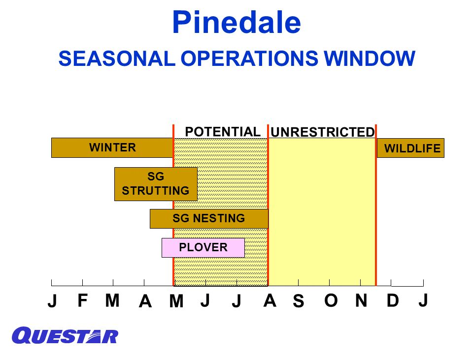 SEASONAL OPERATIONS WINDOW