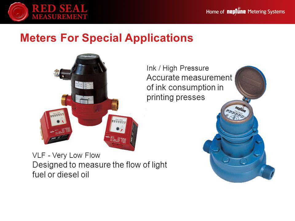 Meters For Special Applications