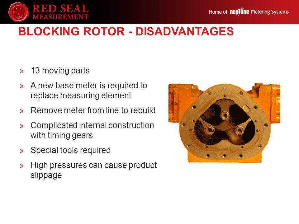 Blocking Rotor - Disadvantages