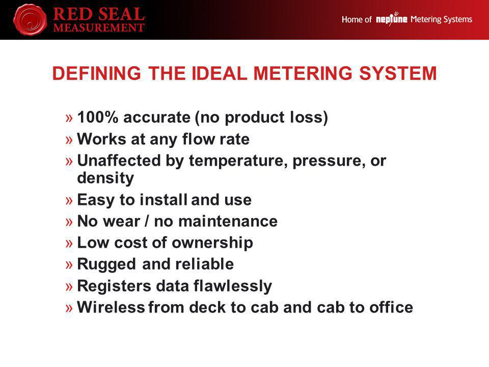 Defining the Ideal Metering System