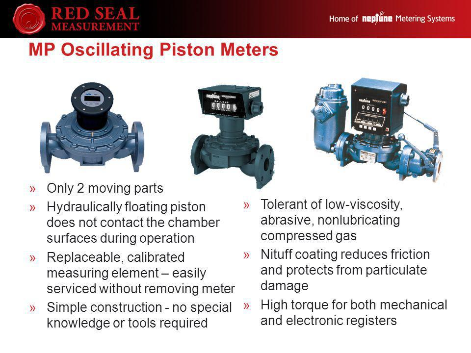 MP Oscillating Piston Meters