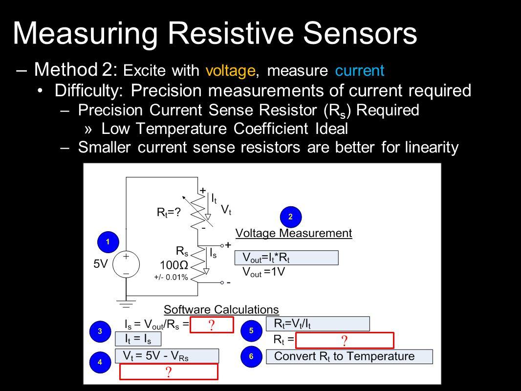 Measuring Resistive Sensors