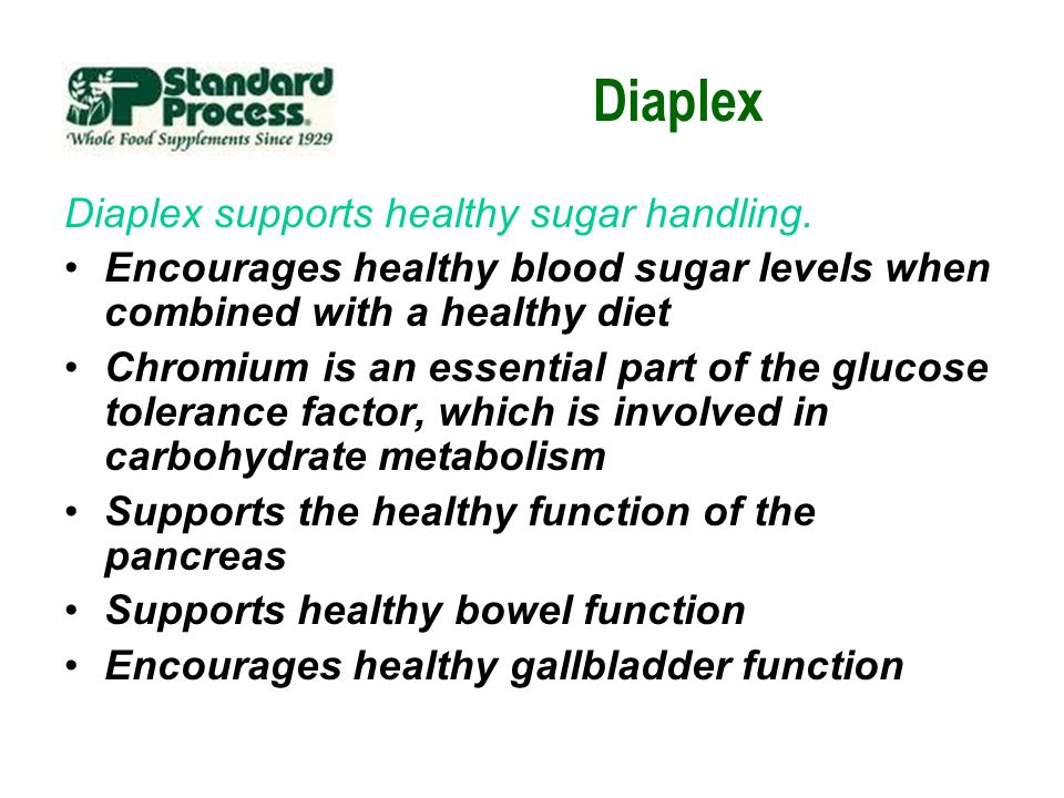 Diaplex Diaplex supports healthy sugar handling.