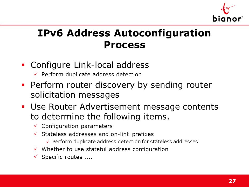 IPv6 Address Autoconfiguration Process