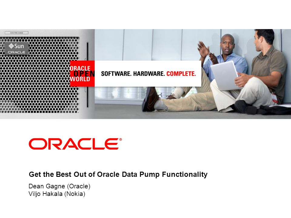 Get the Best Out of Oracle Data Pump Functionality