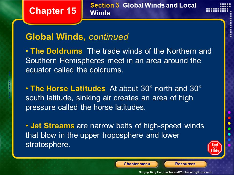 Global Winds, continued