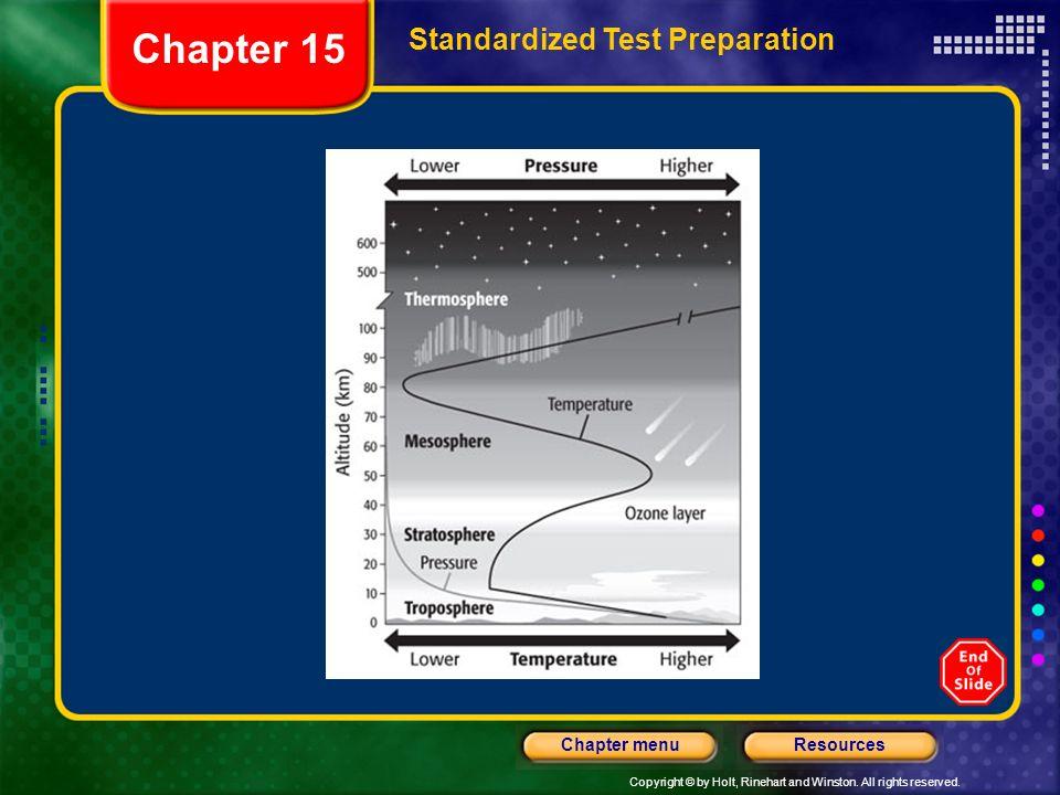 Chapter 15 Standardized Test Preparation
