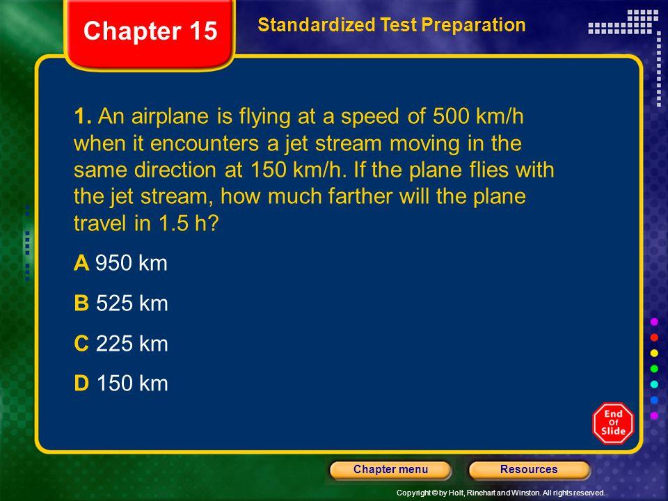 Chapter 15 Standardized Test Preparation.