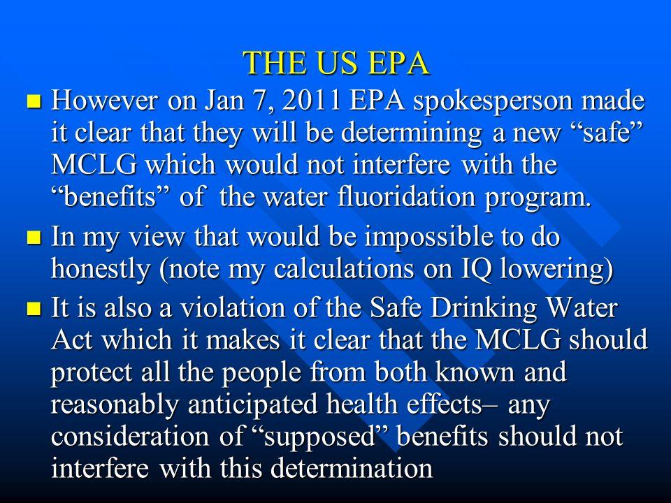 THE US EPA