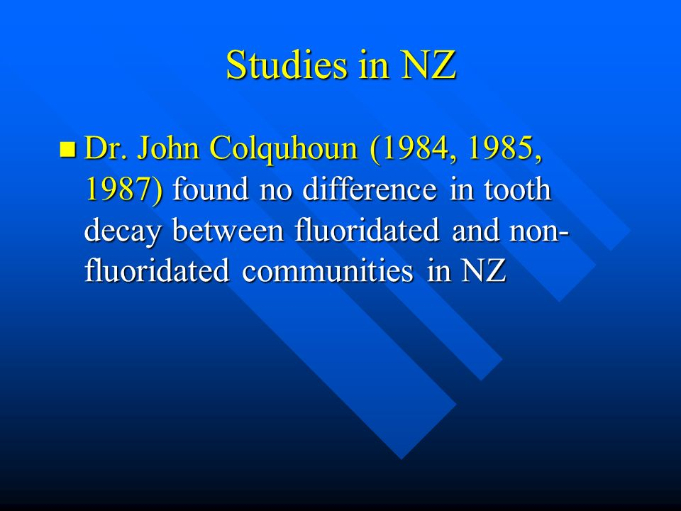 Studies in NZ Dr.