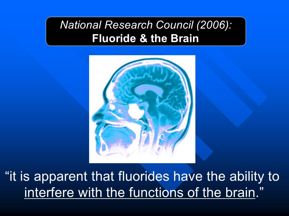 it is apparent that fluorides have the ability to