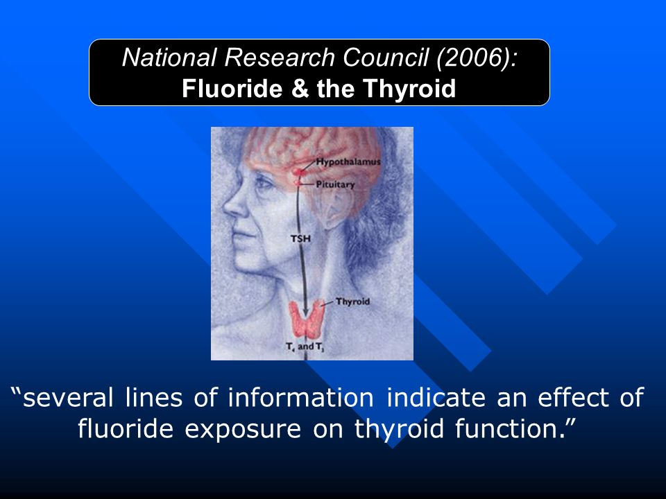 National Research Council (2006): Fluoride & the Thyroid