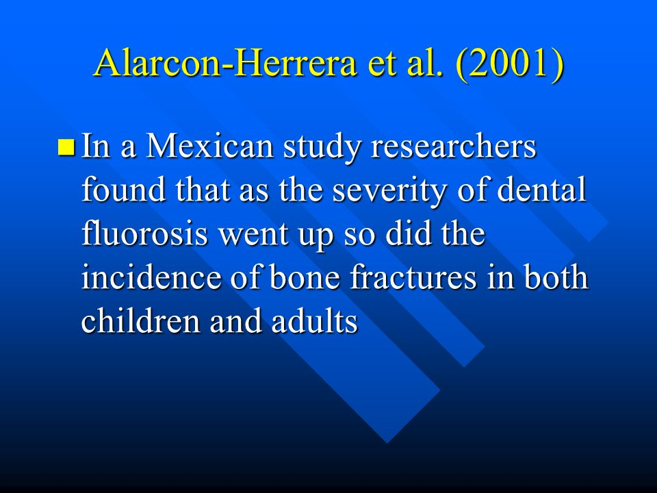 Alarcon-Herrera et al. (2001)