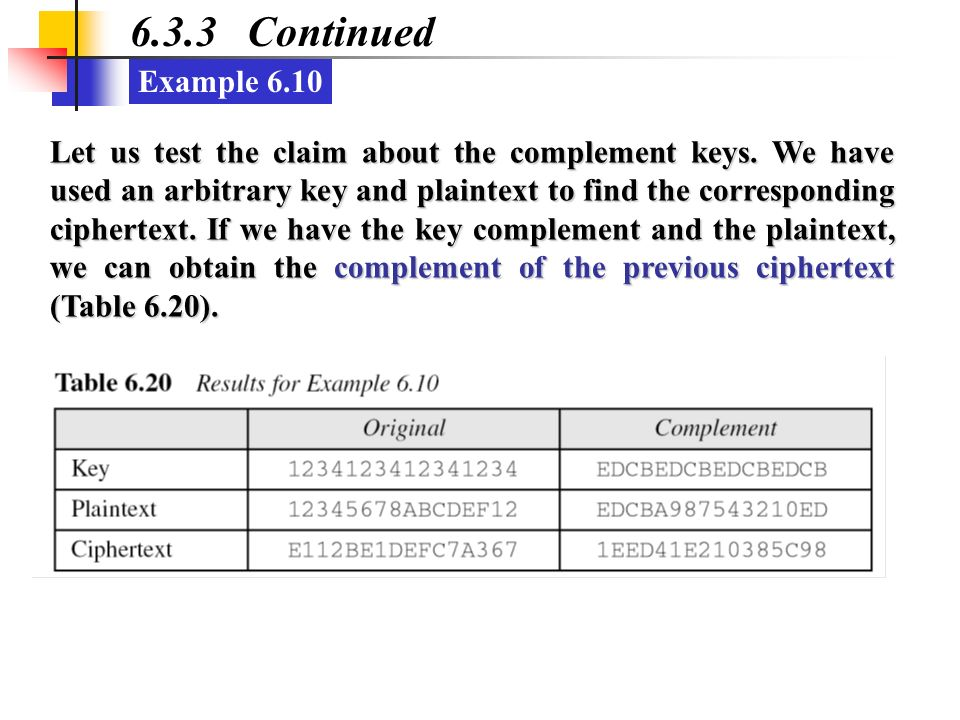 6.3.3 Continued Example 6.10.
