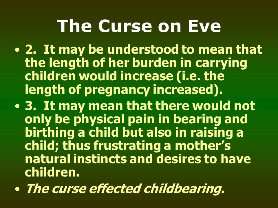 The Curse on Eve