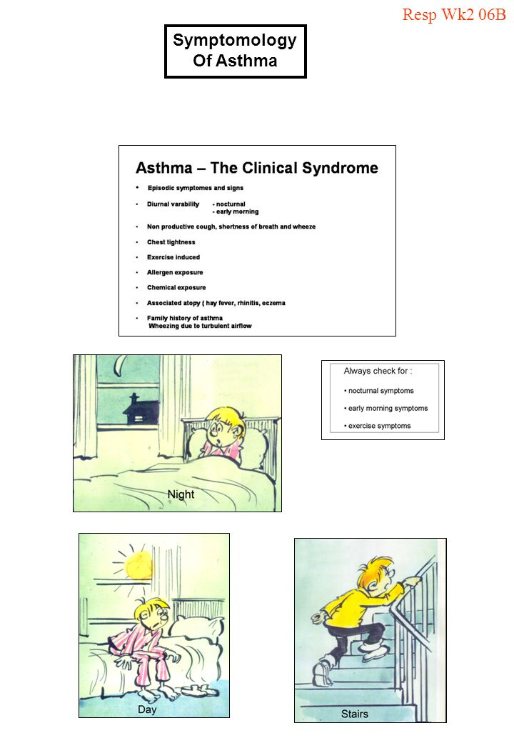 Resp Wk2 06B Symptomology Of Asthma