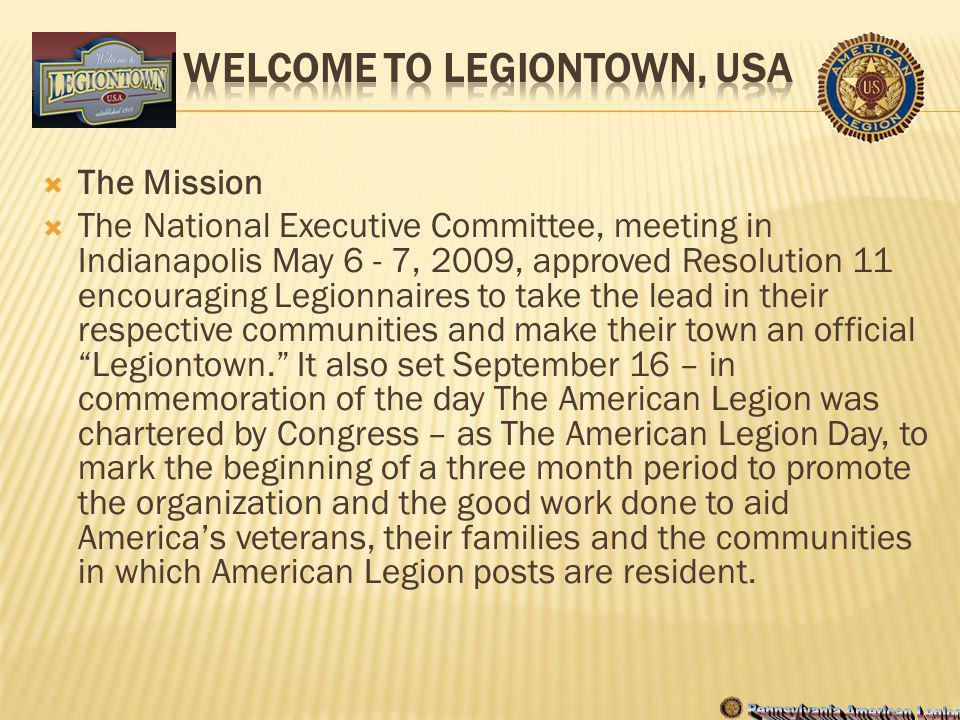 Welcome to Legiontown, USA