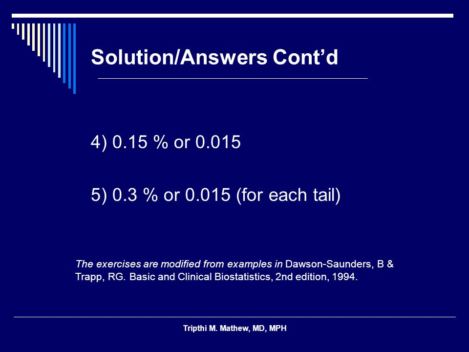 Solution/Answers Cont'd