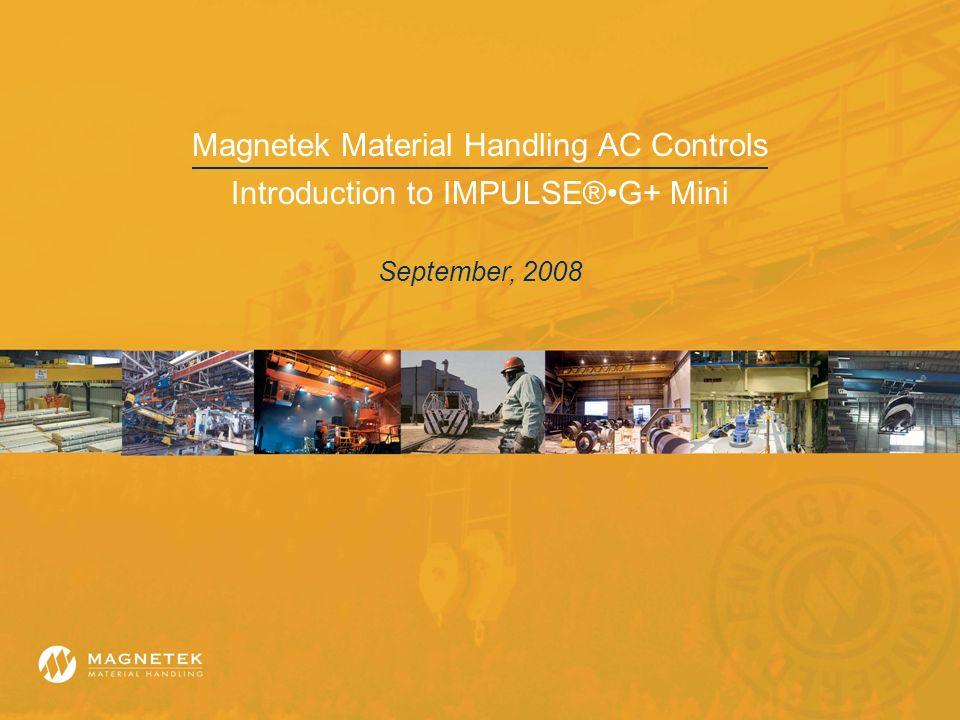 Magnetek Material Handling AC Controls