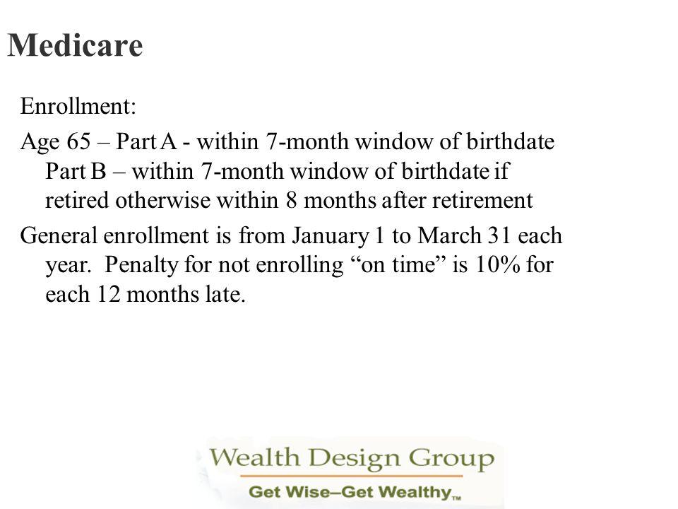 Medicare Enrollment:
