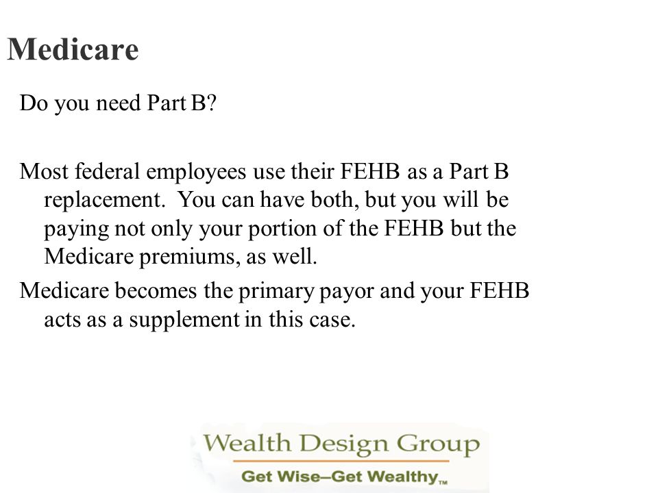 Medicare Do you need Part B