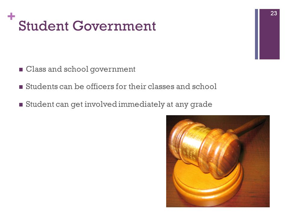 Student Government Class and school government
