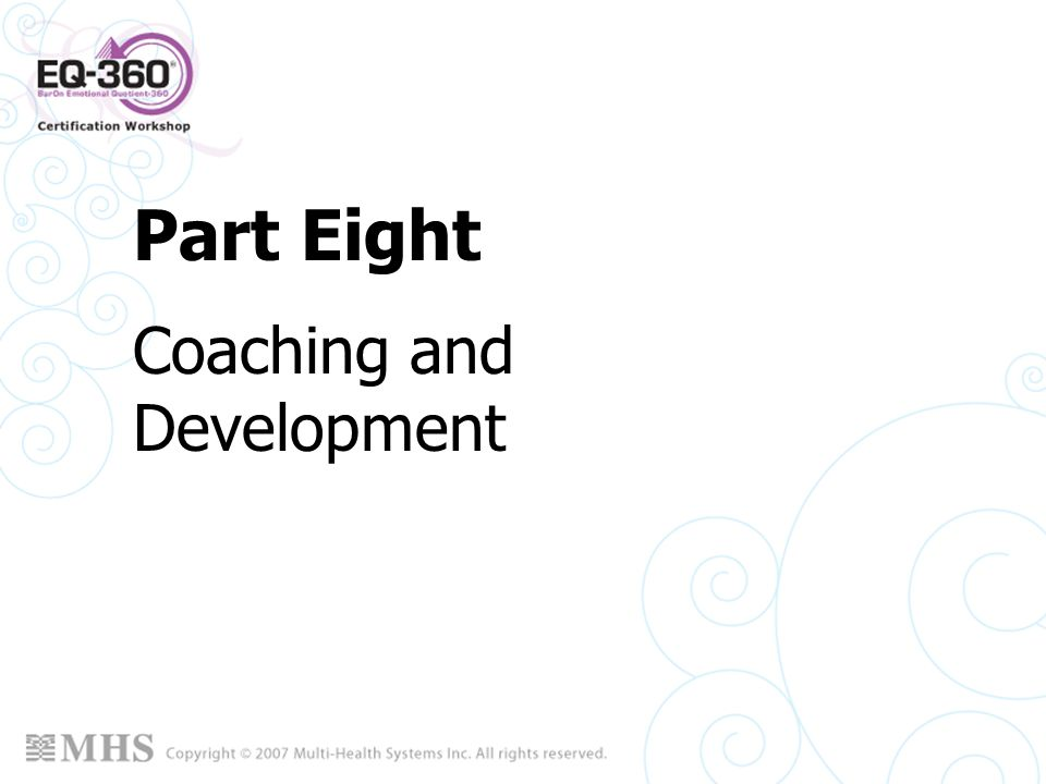 Coaching and Development