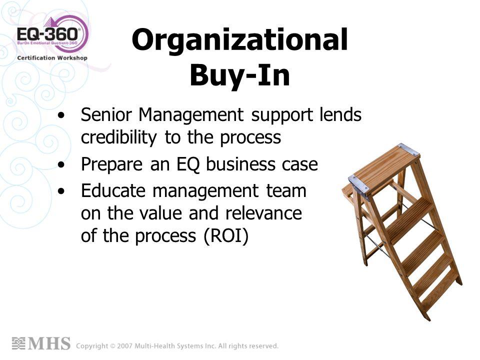 Organizational Buy-In
